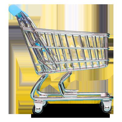 Digital Media Ecommerce Shopping Cart